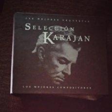 CDs de Música: COLECCION 10 CDS SELECCION KARAJAN. Lote 152428626