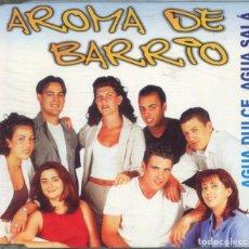 CDs de Música: AROMA DE BARRIO / AGUA DULCE, AGUA SALA (CD SINGLE CAJA PROMO 1999). Lote 152446642