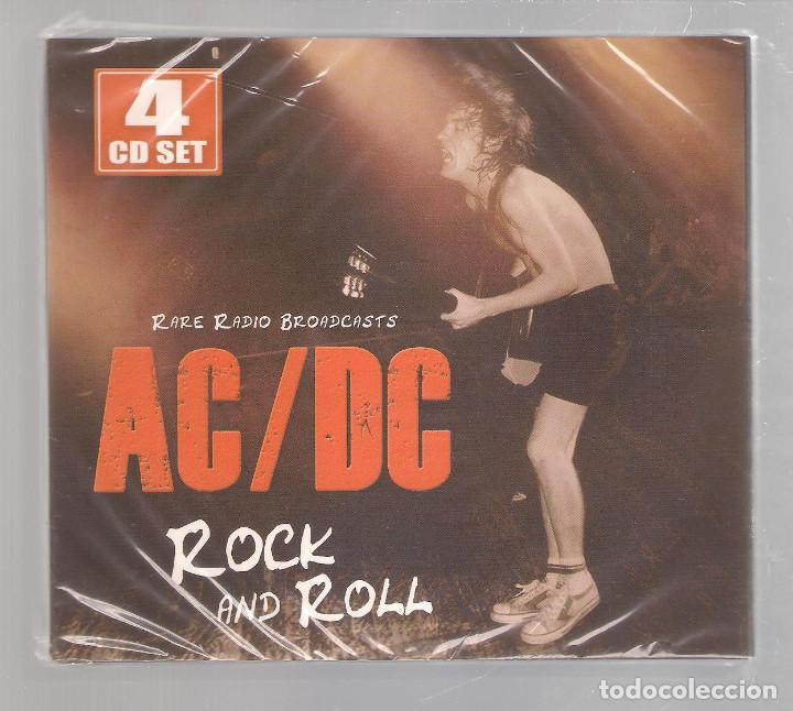 AC/DC - ROCK AND ROLL (RARE RADIO BROADCASTS) (4CD SET DIGIPAK, LASER MEDIA LM 100) PRECINTADO (Música - CD's Heavy Metal)