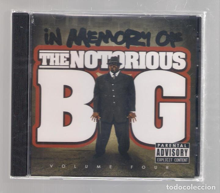 IN MEMORY OF THE NOTORIOUS B.I.G. - VOLUME FOUR (CD 2008) PRECINTADO (Música - CD's Hip hop)