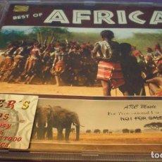 CDs de Música: BEST OF AFRICA - CD. Lote 152457746