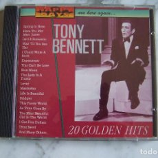 CDs de Música: CD TONY BENNETT. 20 GOLDEN HITS. . Lote 152472662