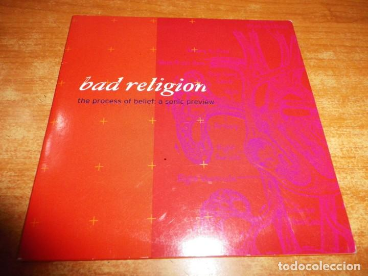 BAD RELIGION THE PROCESS OF BELIEF : A SONIC PREVIEW CD MAXI SINGLE PROMO EP 2002 EU CARTON 5 TEMAS (Música - CD's Rock)