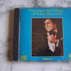 CDs de Música: CD TONY BENNETT. THE SPECIAL MAGIC OF TONY BENNETT. . Lote 152473874