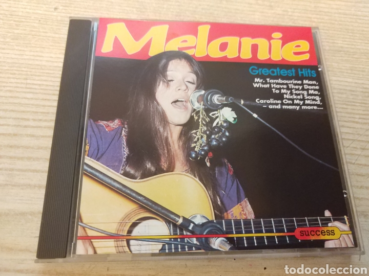 MELANIE GREATEST HITS - CD (Música - CD's Country y Folk)