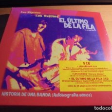 CDs de Música: RAR BOX. 5 CD'S. LOS RÁPIDOS, LOS BURROS, EL ÚLTIMO DE LA FILA. SEALED. Lote 152499634