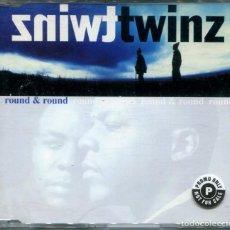 CD de Música: TWINZ / ROUND & ROUND (2 VERSIONES) / 4 EYES 2 HEADS (2 VERSIONES) CD SINGLE CAJA 1995. Lote 152525702