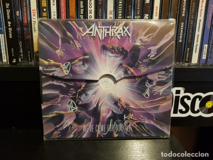 ANTHRAX - WE'VE COME FOR YOU ALL - LIMITED EDITION (Música - CD's Heavy Metal)
