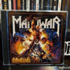 CDs de Música: MANOWAR - HELL ON STAGE LIVE - 2 CD'S. Lote 152529834