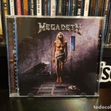 CDs de Música: MEGADETH - COUNTDOWN TO EXTINCION. Lote 152539246