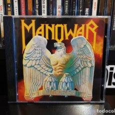CDs de Música: MANOWAR - BATTLE HYMNS. Lote 152539314