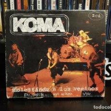 CDs de Música: KOMA - MOLESTANDO A LOS VECINOS - 2 CD'S. Lote 152539786