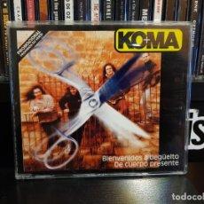 CDs de Música: KOMA - BIENVENIDOS A DEGÜELTO / DE CUERPO PRESENTE . Lote 152539846