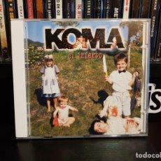 CDs de Música: KOMA - EL INFARTO. Lote 152539886