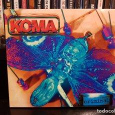 CDs de Música: KOMA - CRIMINAL. Lote 152539982