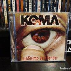 CDs de Música: KOMA - SINONIMO DE OFENDER. Lote 152540022