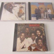 CDs de Música: BRICK - LOTE 3 (GOOD HIGH + BRICK + STONEHEART) 2011 USA CD + 5 BONUS TRACKS. Lote 152546234