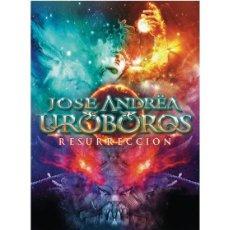 CDs de Música: JOSÉ ANDREA Y URÓBOROS – RESURRECCION (RER028 CD, EDICIÓN ESPECIAL LIMITADA, DIG, 2015) PRECINTADA!. Lote 152550258