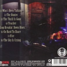 CDs de Música: JORGE SALAN THE MAJESTIC JAYWALKERS - MADRID/TEXAS (RER017 CD, ESPECIAL EDITION, 2015) PRECINTADO!!. Lote 152550570