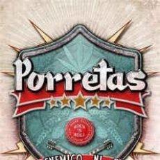 CDs de Música: PORRETAS - AL ENEMIGO NI AGUA (RER018 CD, 2015) PRECINTADO!!!. Lote 152550694
