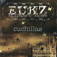CDs de Música: EUKZ - EL ÚLTIMO KE ZIERRE - CUCHILLAS (RER029 CD, 2016) PRECINTADO!!!. Lote 152550914