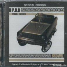 CDs de Música: P.O.D CD BROWN SPECIAL EDITION 1996 -LINKIN PARK *NUEVO Y PRECINTADO*(COMPRA MINIMA 15 EUROS). Lote 152552542