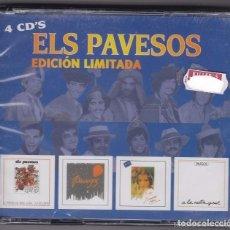 CDs de Música: ELS PAVESOS EDICIÓN LIMITADA 4 CDS . Lote 152555522