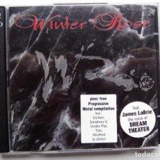 CDs de Música: WINTER ROSE. CD DOBLE INSIDE OUT MUSIC IOMCD015. EU 1997. DREAM THEATER. ENCHANT. SYMPHONY X.. Lote 152555970