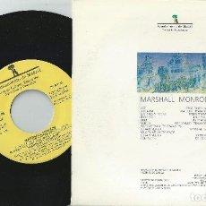 CDs de Música: MARSHALL MONROE SINGLE,SPANISH HEAVY 1986-SUBTERRANEO-ZARPA-FURIA ANIMAL-EXODO-ROSA NEGRA. Lote 152563606
