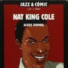 CDs de Música: JAZZ & COMIC NAT KING COLE 2CDS + 1 COMIC NOBEL MUSICAL. Lote 152574790