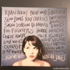 CDs de Música: NORAH JONES -FEATURING. Lote 152582198