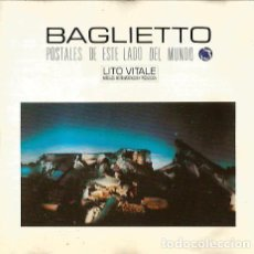 CDs de Música: CD JUAN CARLOS BAGLIETTO: POSTALES DE ESTE LADO DEL MUNDO ( CON LITO VITALE ). Lote 152633210