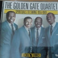 CDs de Música: THE GOLDEN GATE QUARTET SPIRITUALS TO SWING 1955-1969 CD. Lote 152668802