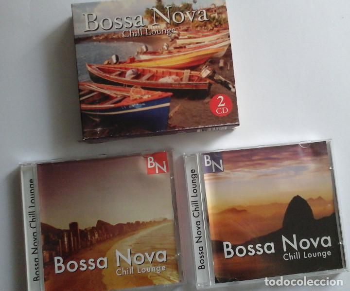 BOSSA NOVA, CHIL LOUNGE. CAJA CON 2 CDS. OCASIÓN. (Música - CD's World Music)