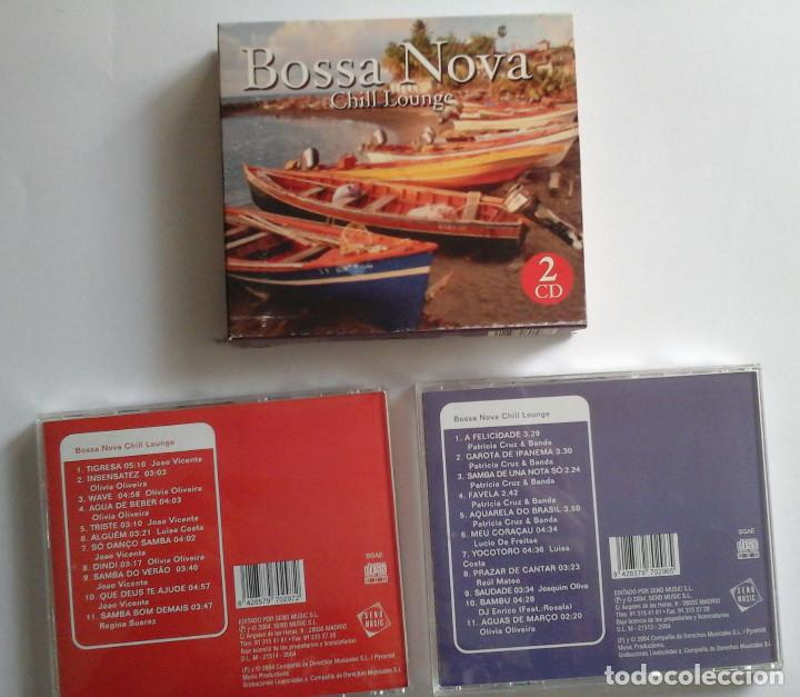 CDs de Música: Bossa Nova, Chil Lounge. Caja con 2 cds. Ocasión. - Foto 2 - 152696742