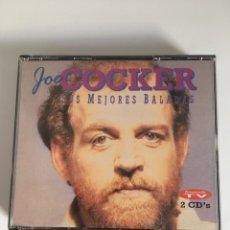 CDs de Música: 2 CD'S JOE COCKER-SUS MEJORES BALADAS. Lote 152782730