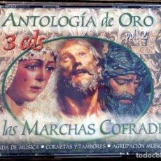 CDs de Música: ANTOLOGÍA DE ORO DE LAS MARCHAS COFRADES. VOLUMEN 2. Lote 152798722