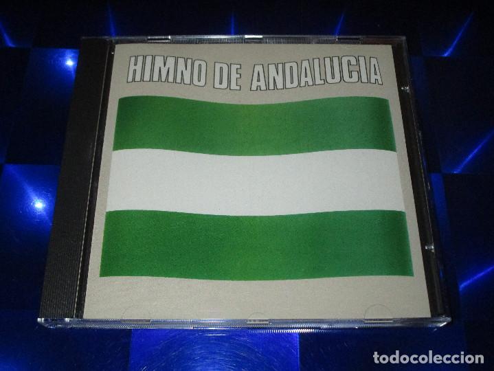 CDs de Música: HIMNO DE ANDALUCIA - CD - 7 99262 2 - HISPAVOX - AMIGOS DE GINES - ENRIQUE MORENTE ... - Foto 2 - 152805606