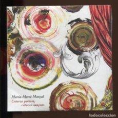 CD de Música: MARIA MERÇÈ MARÇAL. CATORZE POEMES, CATORZE CANÇONS. CD.. Lote 161490304