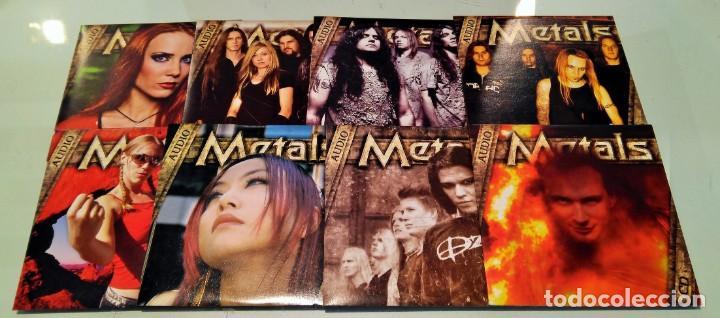 8 CD´S REVISTA METALS (Música - CD's Heavy Metal)