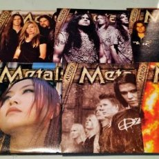 CDs de Música: 8 CD´S REVISTA METALS. Lote 152918386