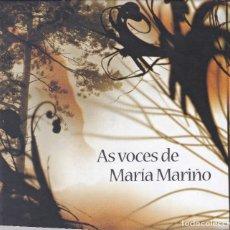 CDs de Música: 10087 -MARIA MARIÑO AS VOCES -CD CON LIBRETO POEMARIO. Lote 152920922
