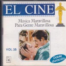 CDs de Música: 10076 -CD BANDAS SONORAS DE PELICULA -MÚSICA MARAVILLOSA. Lote 152924950