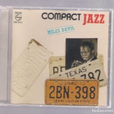 CDs de Música: MILES DAVIS - COMPACT JAZZ (CD 1989, PHILIPS 838 254-2). Lote 152939414