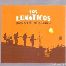 CDs de Música: LOS LUNATICOS - ROCK & ROLL EN LA AZOTEA (CD + DVD DIGIPAK 2005, SANTO GRIAL PRODUCCIONES SG-179 CD). Lote 152945674