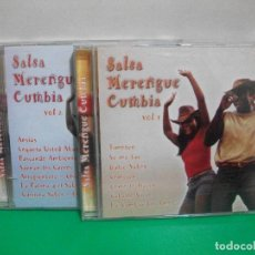 CDs de Música: SALSA ,MERENGUE CUMBIA VOL 1 Y VOL 2 2X CDS ALBUM NUEVO¡¡. Lote 152947030