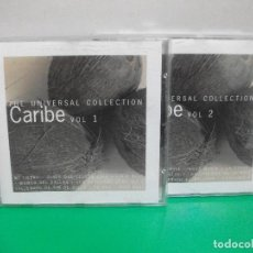 CDs de Música: THE UNIVERSAL COLLECTION CARIBE VOL 1 Y VOL 2 2X CDS 2000 . Lote 152947814