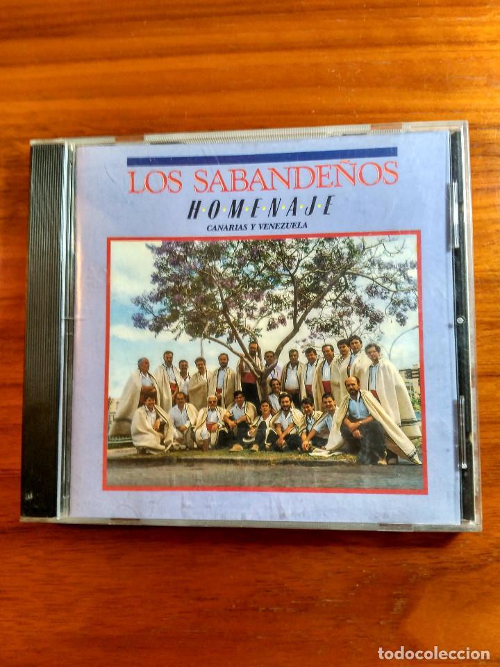 LOS SABANDEÑOS CD HOMENAJE CANARIAS VENEZUELA (Música - CD's Flamenco, Canción española y Cuplé)