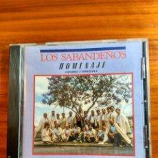 CDs de Música: LOS SABANDEÑOS CD HOMENAJE CANARIAS VENEZUELA. Lote 152952622