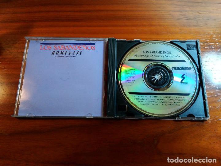CDs de Música: LOS SABANDEÑOS CD HOMENAJE CANARIAS VENEZUELA - Foto 2 - 152952622